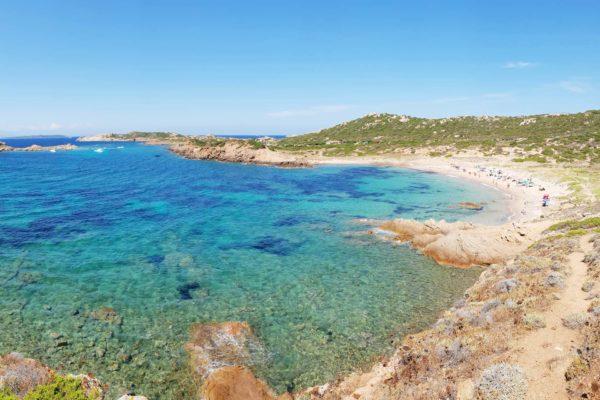Montebello21 ✓ Spiaggia dell'Uomo Morto nell'Arcipelago di La Maddalena